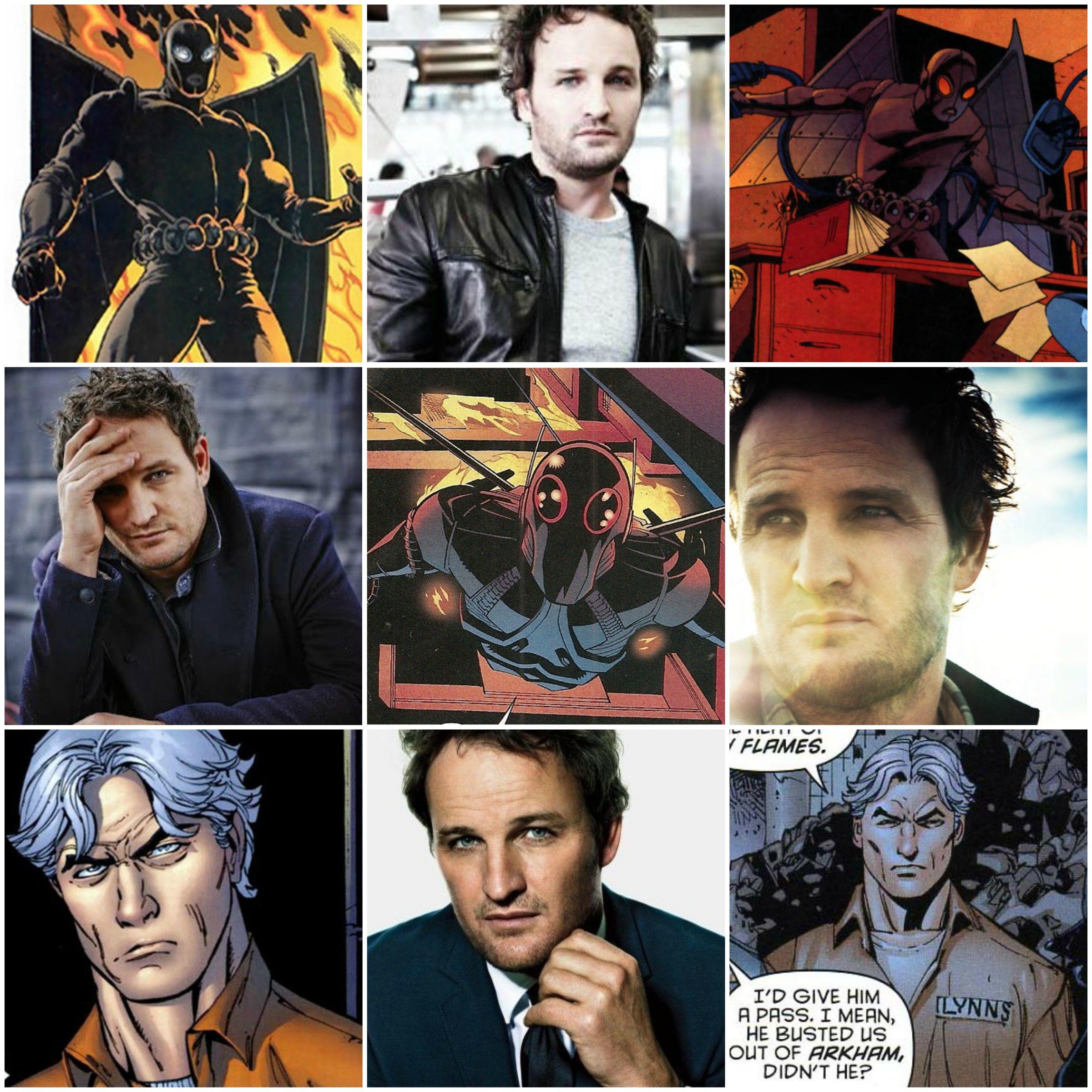 Jason Clarke as Firefly / Garfield Lynns | Batman/DC/Gotham-anything