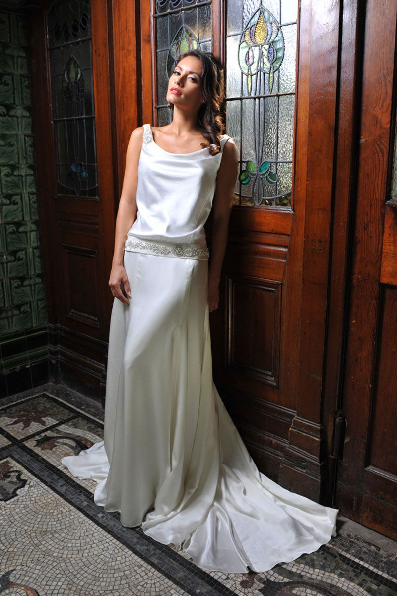 1920s wedding dresses add some gatsby glamour to your big day isis from ivory co 1920s wedding dresses ombrellifo Images