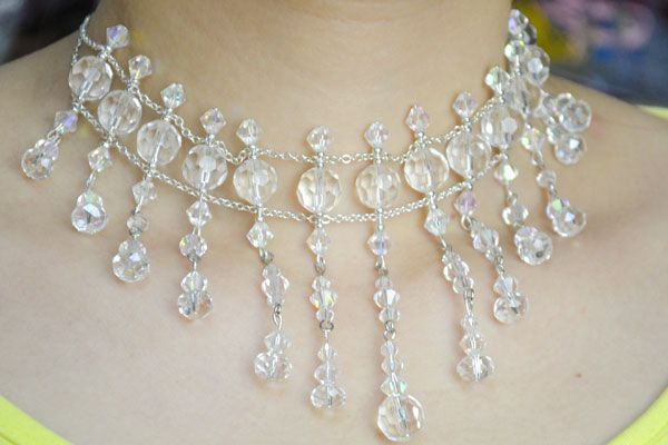 Wedding Jewelry Ideas on How to Make Stunning Necklace with Crystals