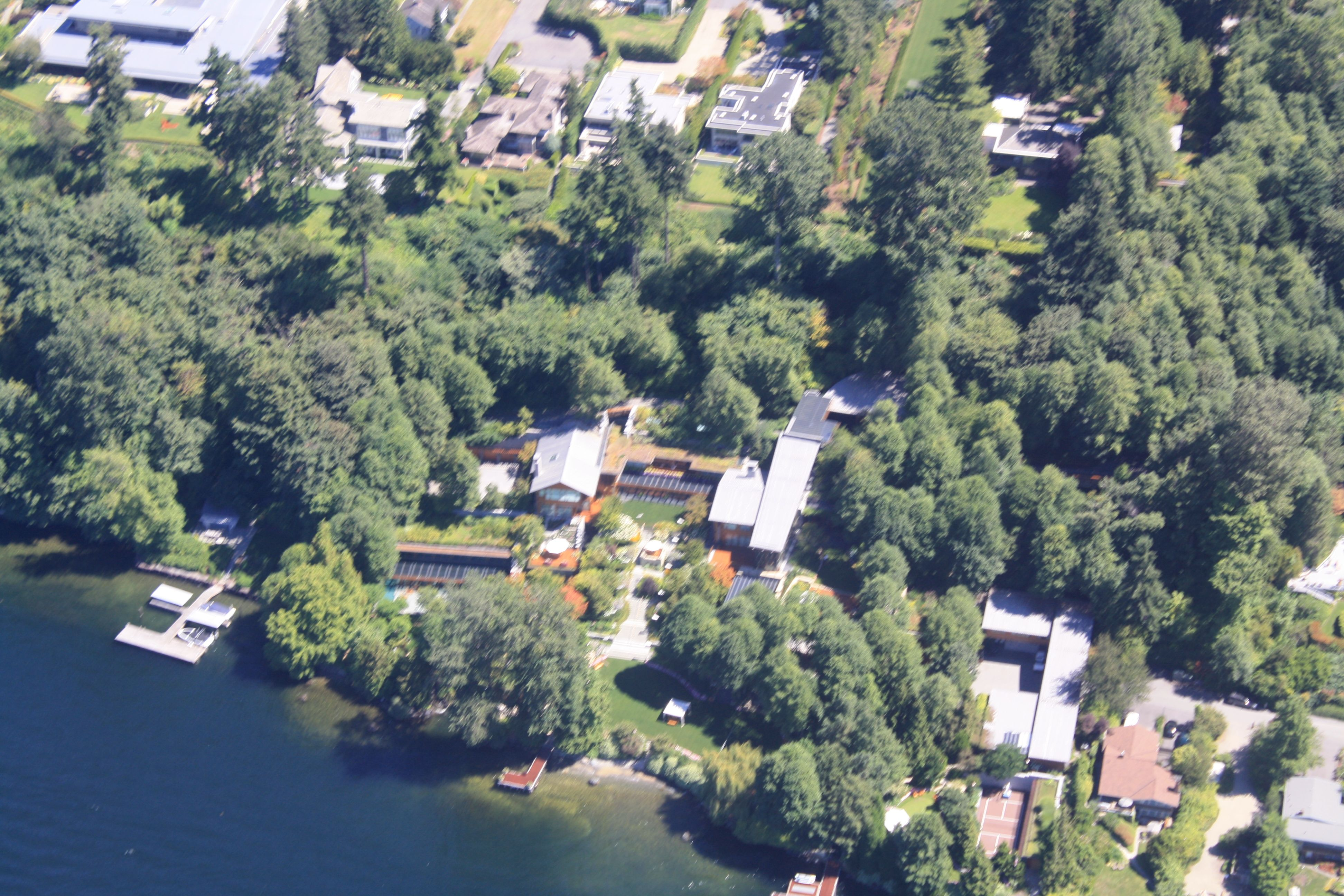 Bill Gates House Seattle Washington Seattle And Local Area