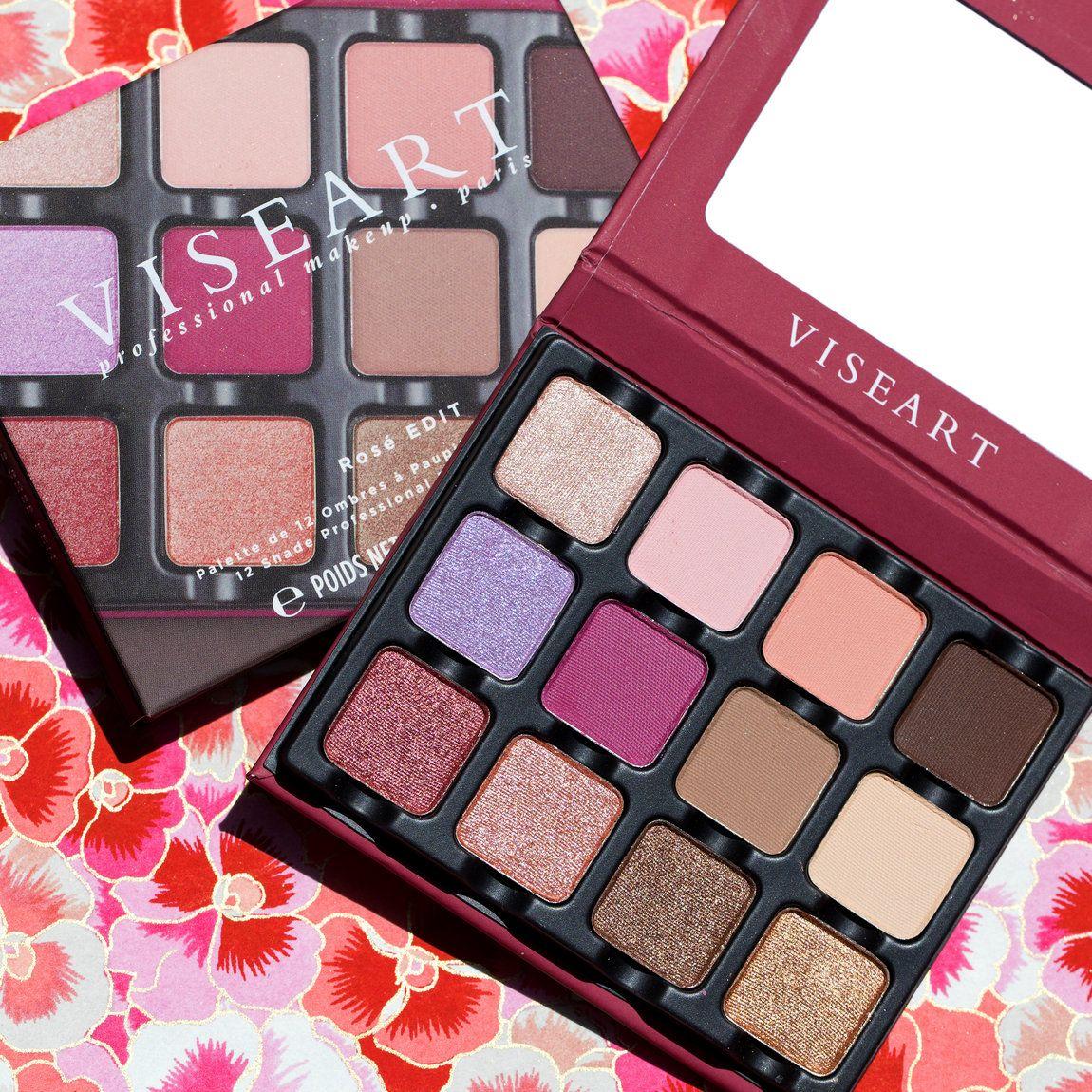 Viseart Rosé EDIT Eye Shadow Palette Eyeshadow