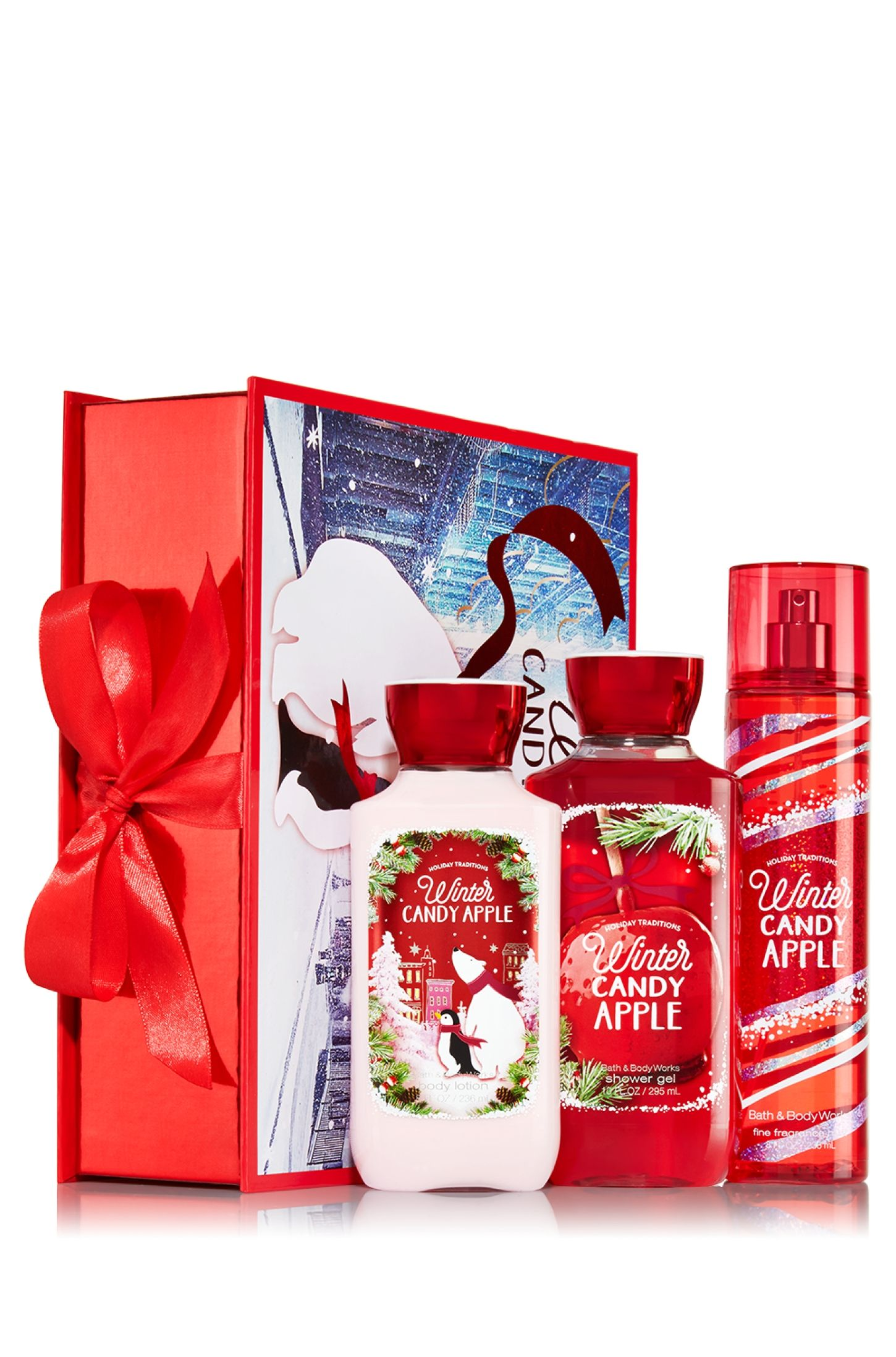 Winter Candy Apple Holiday Traditions Gift Set - Signature ...