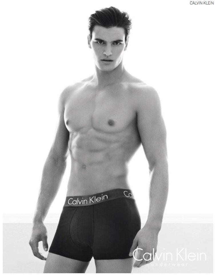 Calvin Klein Muse Matthew Terry Models Calvin Klein Intense Power ...