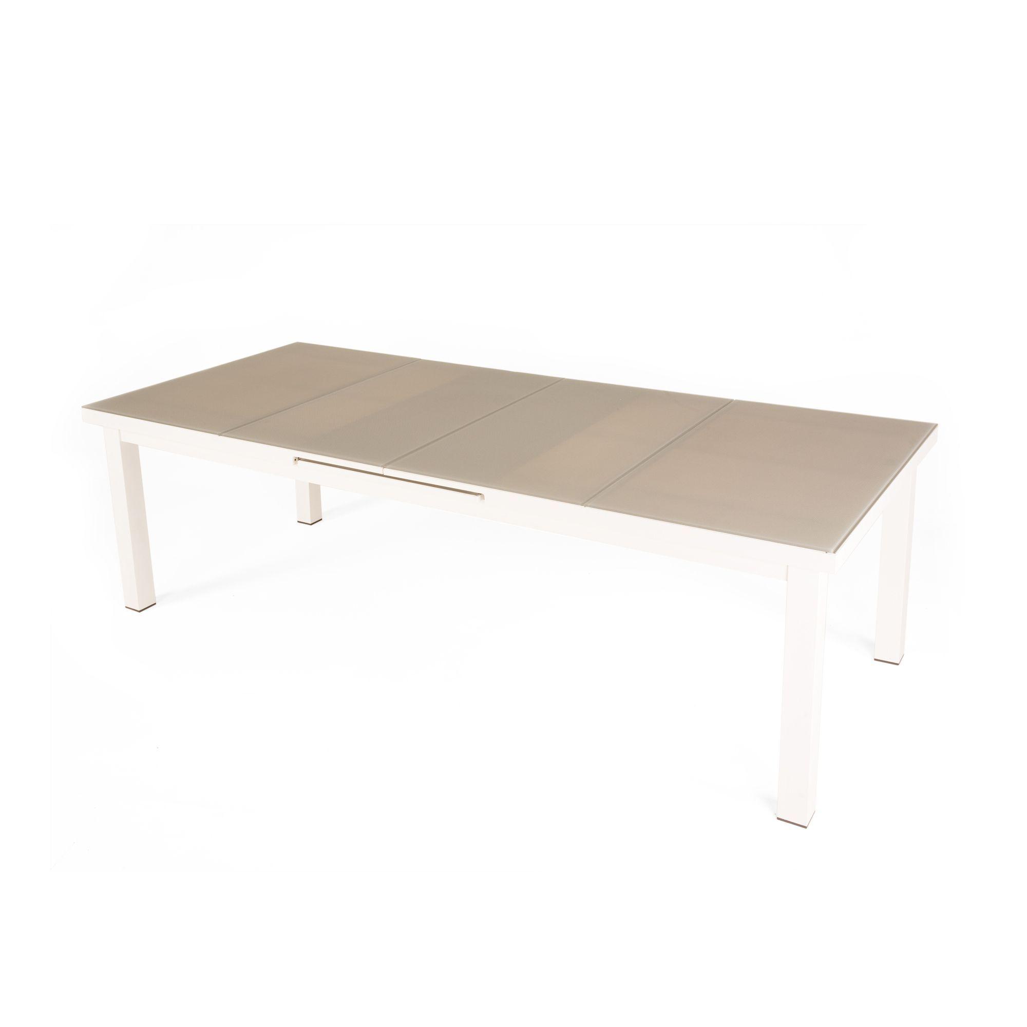 Table de jardin à extension automatique - Dahlia - Tables de ...