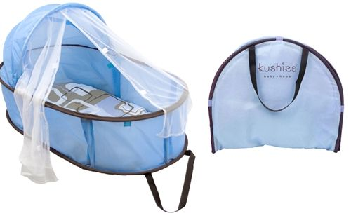 Travel With An Infant Just Got Easier With The Kushies Easy Fold