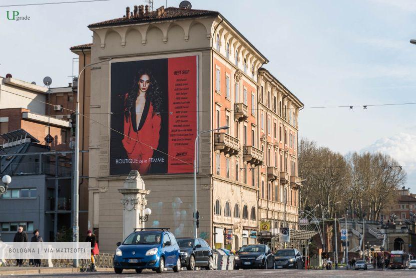 Boutique de la Femme Bologna - Via Matteotti adv megaimpianti Maxiaffissioni pubblicità