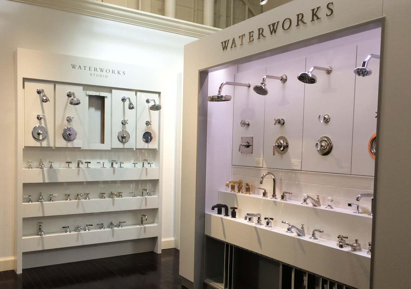 The New Waterworks Display In Edelman S Bedford Heights Showroom