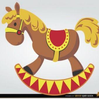 Vectores De Dibujos Animados 6 900 En Formato Ai Eps Y Svg Caballitos De Madera Caballo De Madera Imagenes De Juguetes