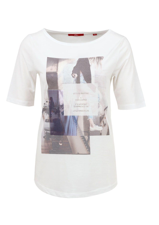T-Shirt mit Print-Collage von s.Oliver. Entdecken Sie jetzt topaktuelle Mode für…