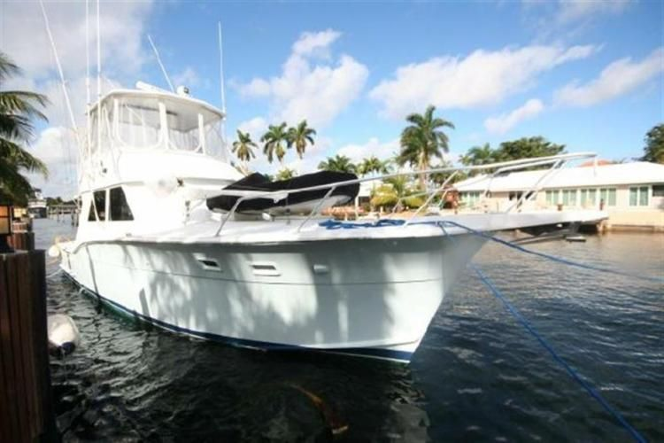 Make: Hatteras Yachts Model: Sportfish Year: 1983 Length: 46 ft. 0 in. Location: Fort Lauderdale, FL Type: Convertible Fishing Price: $82,500.00 USD