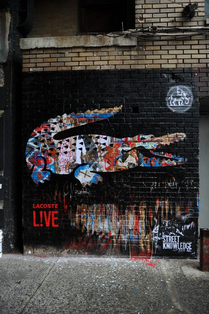 Lacoste LIVE Graffiti | 10,000 x Inspirations that Worth more than ...