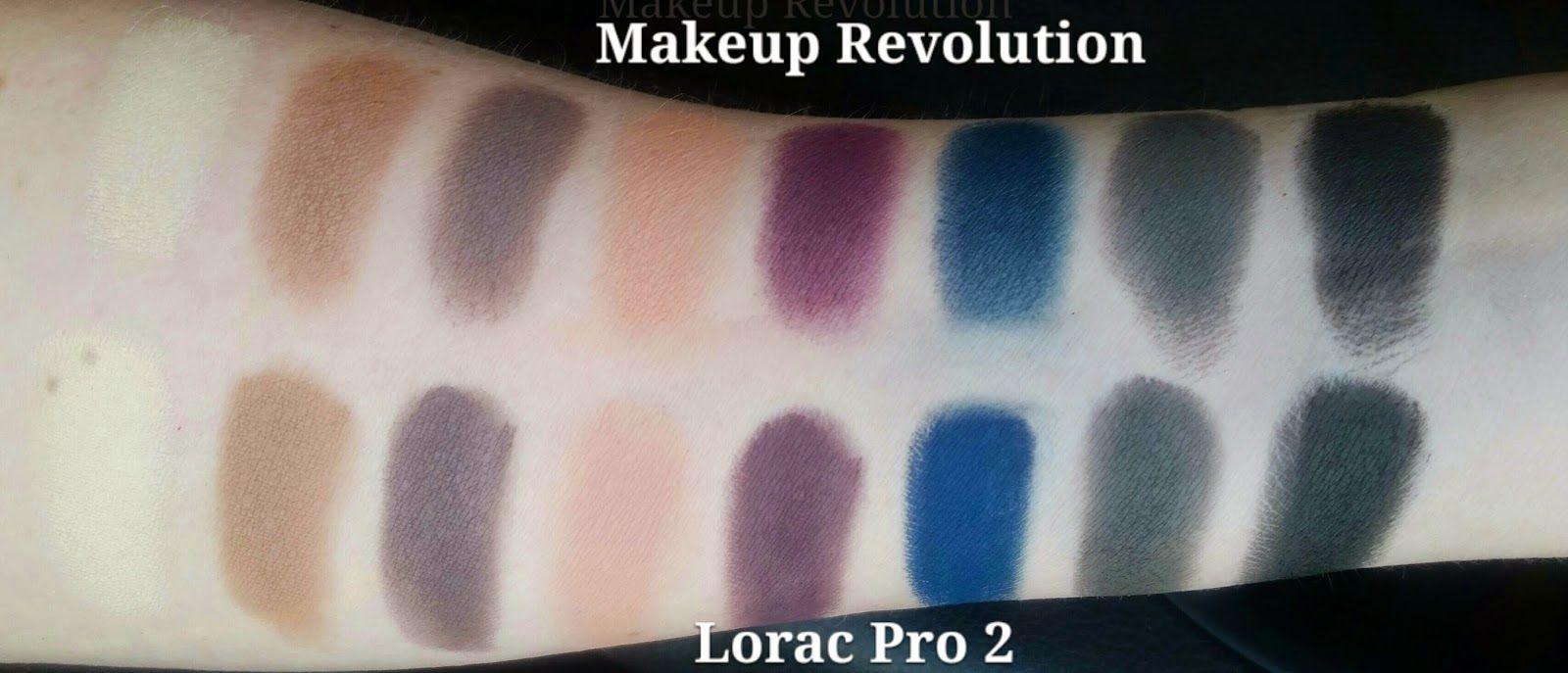 Makeup Revolution Iconic Pro 2 Swatches