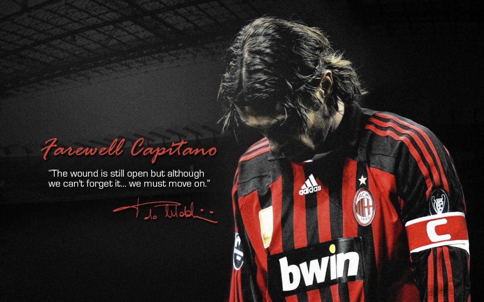Ac Milan Wallpaper Hd Soccer Desktop Paolo Maldini Milan Wallpaper Ac Milan