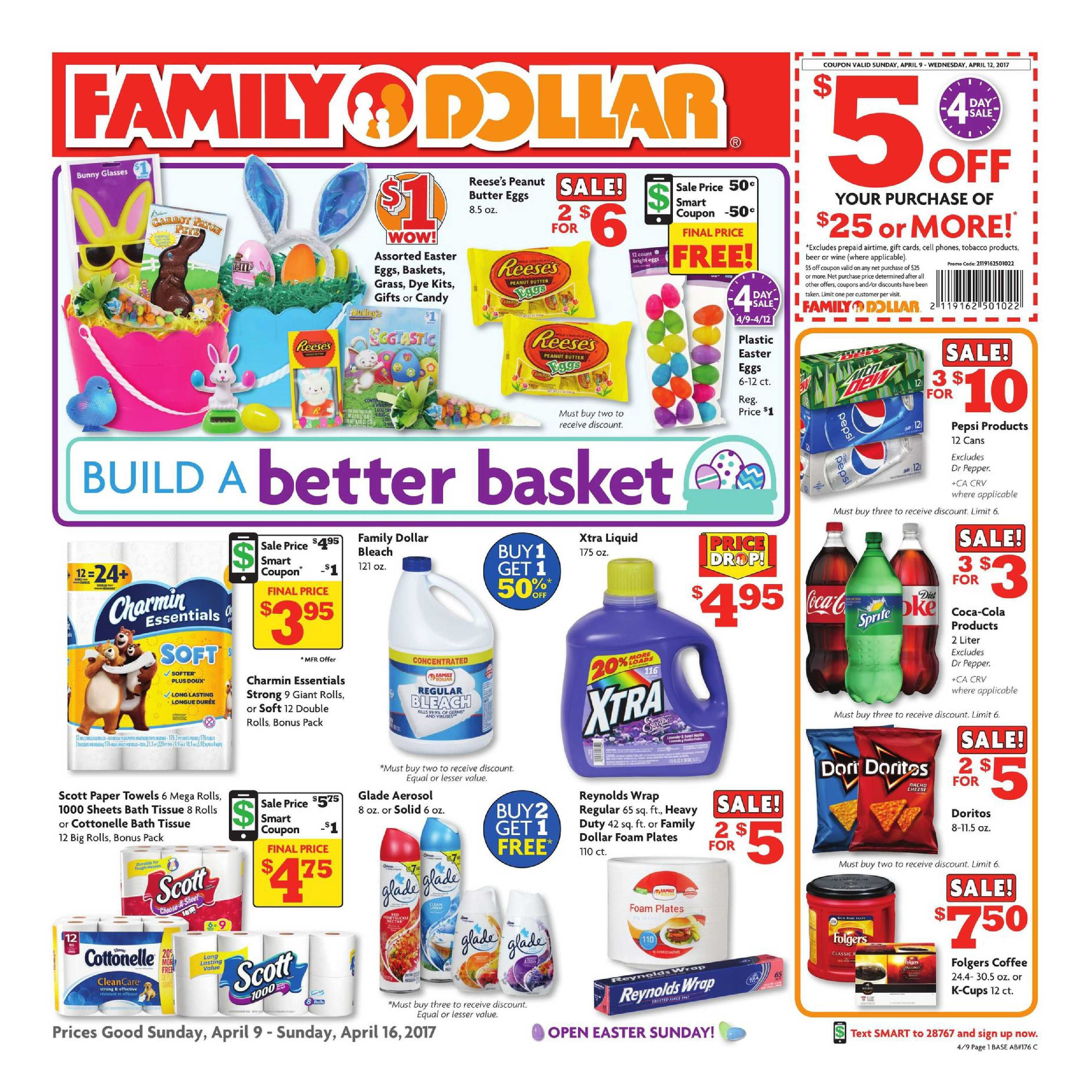 family dollar weekly ad april 9 16 2017 httpwww - Family Dollar Prepaid Cards