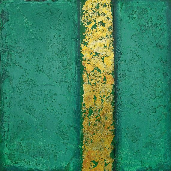 Acrylic Abstract Painting on Gallery Canvas by avaavadonstudio, $125.00