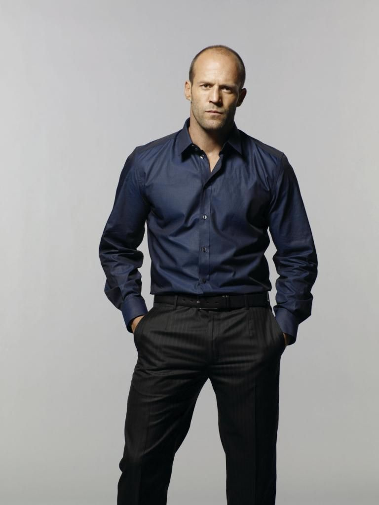 Jason Statham - I'll just add him to the list of totally inappropriate things that I want in life <-- I concur