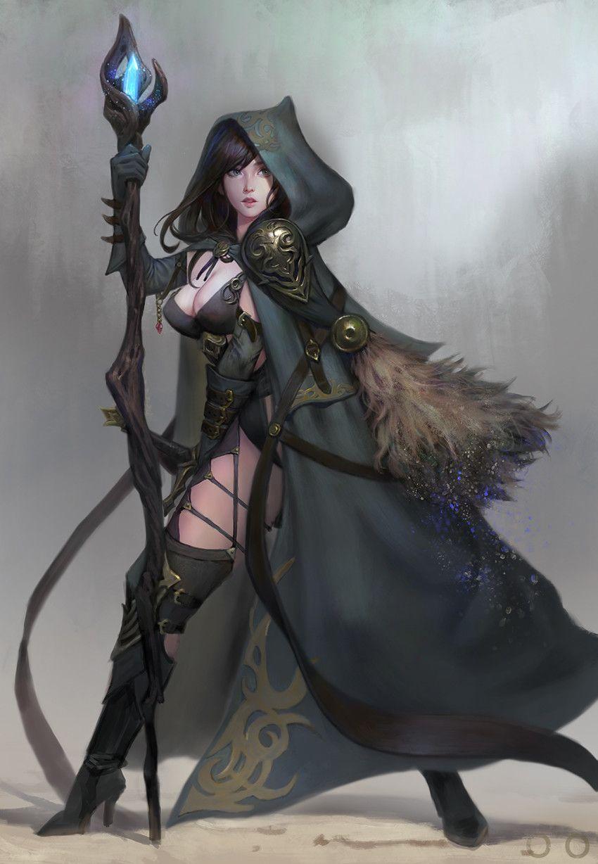 ArtStation - Battle sorcerer, ㅇㅇ Joo