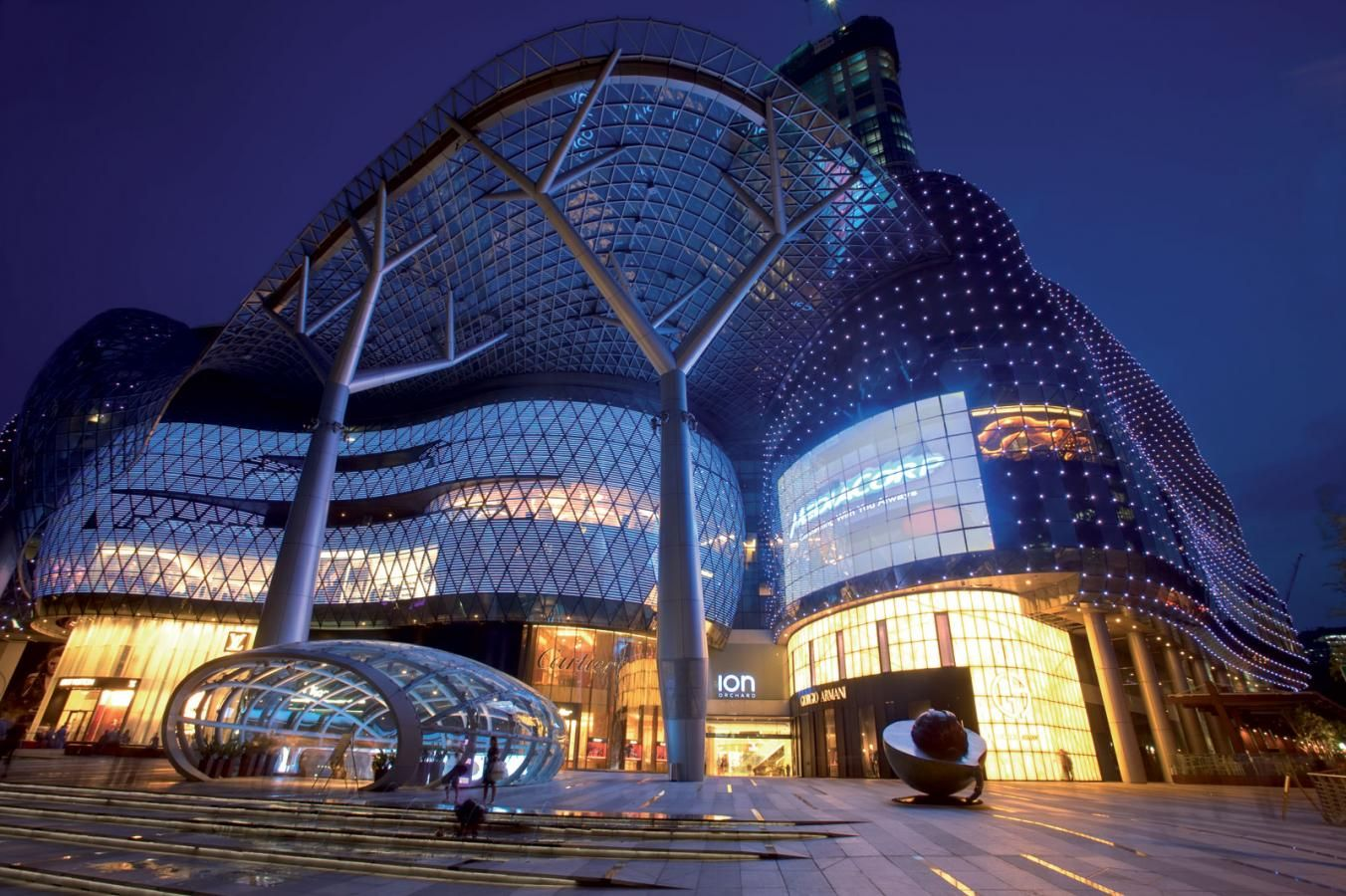 Ion Orchard Singapore Shopping Mall Architecture Singapore Orchard Singapore