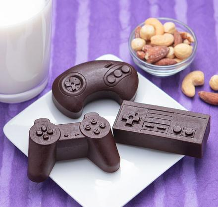 Game Controllers Ice and Chocolate Molds Chocolate molds
