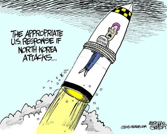 North Korea Cartoons - US News