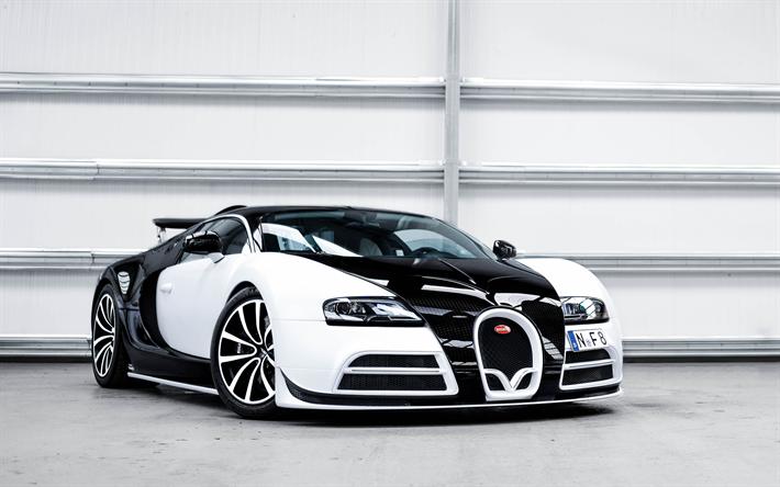 Download Wallpapers Bugatti Veyron Mansory Vivere 4k Hypercar