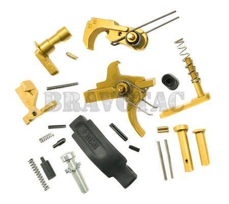 ACW AR15 Titanium Nitride LPK Precision Lower Parts Kit Mil-Spec