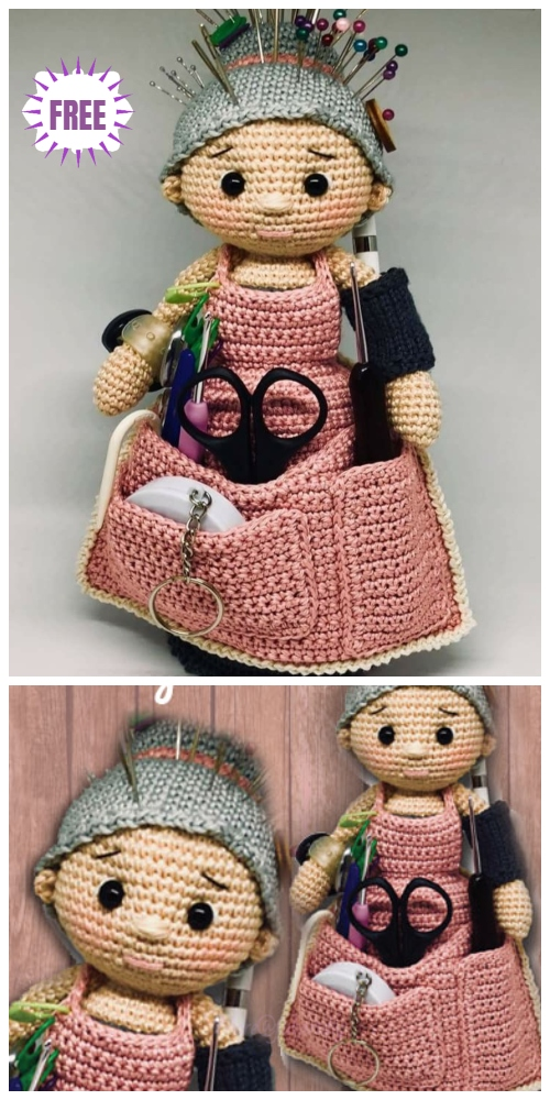 Crochet Crafter Granny Doll Amigurumi Free Patterns