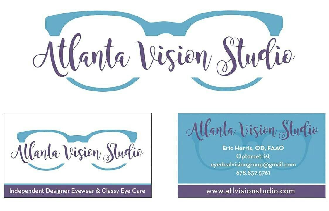 Logo And Business Card Designed For Atlanta Vision Studio My