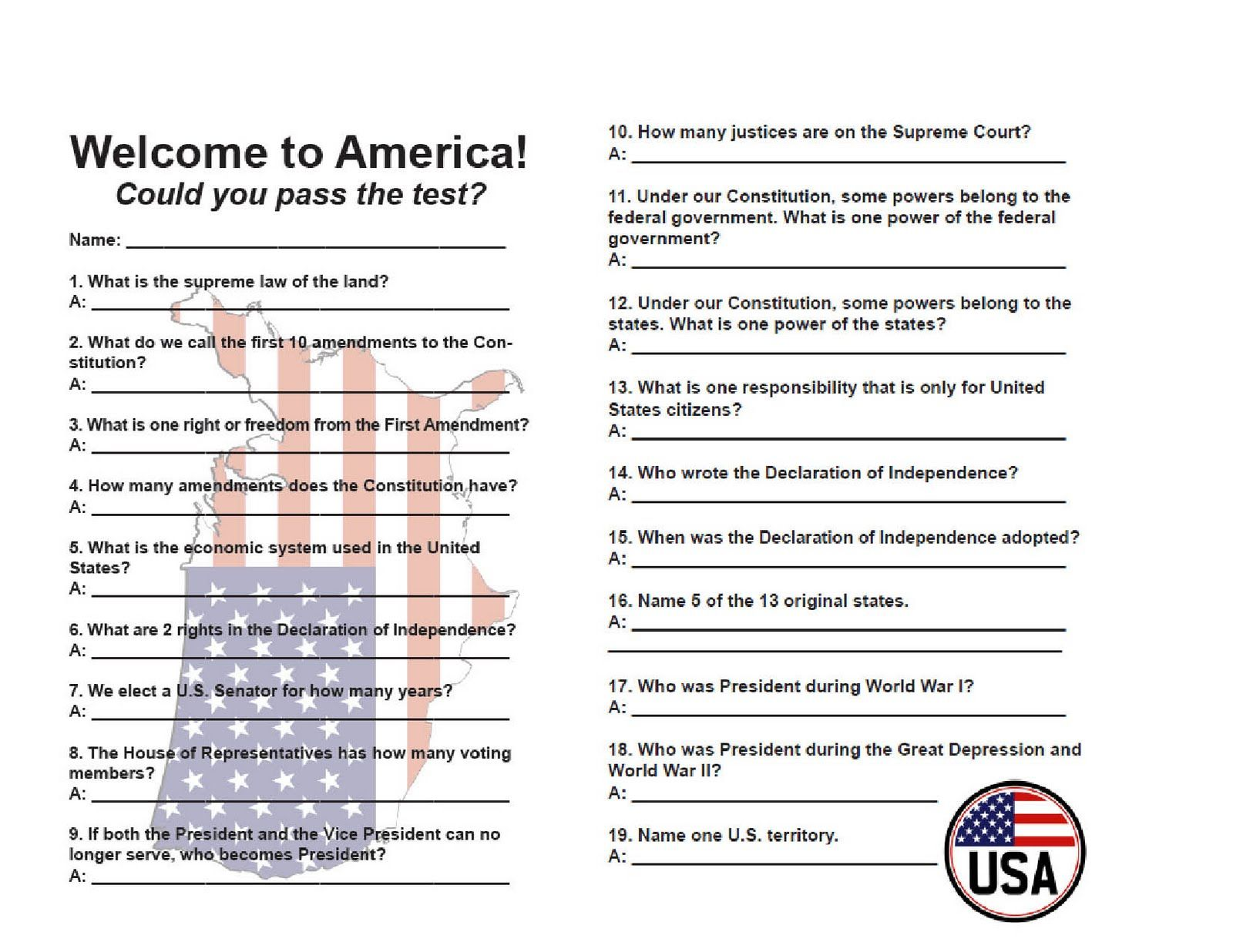 You Become A Citizen Exactly One Time In Your Life