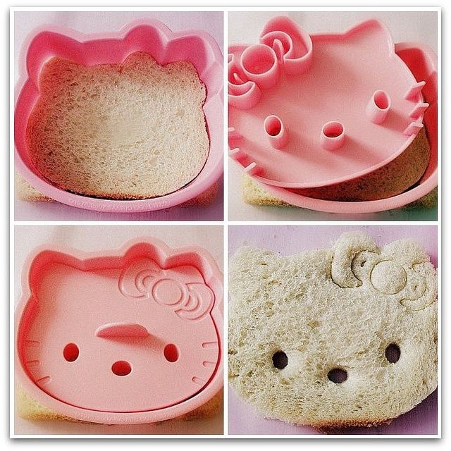 23 alimentos en forma de hello kitty que son demasiado for Utensilios de cocina hello kitty