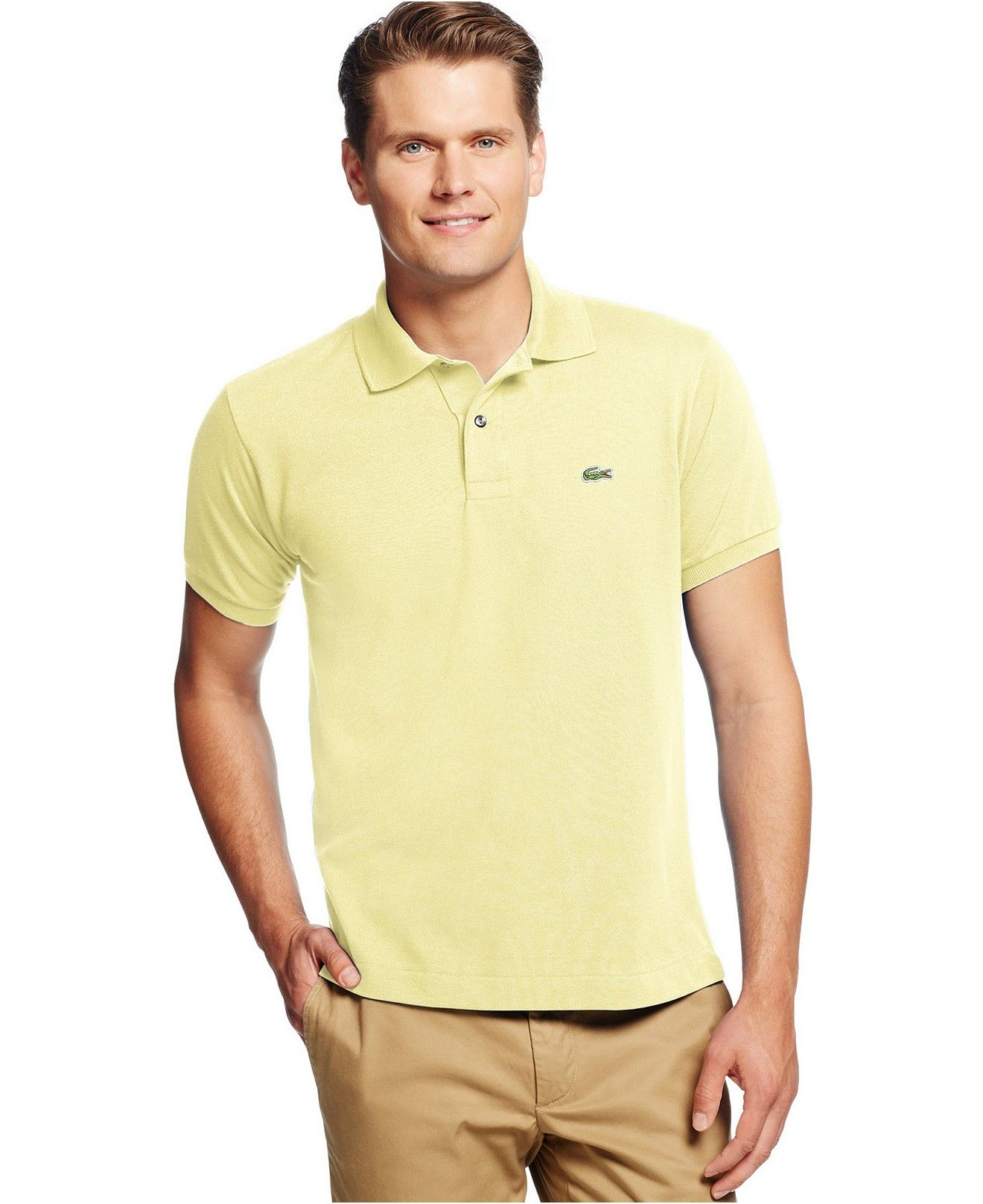 0af5a14f15b3 Lacoste Classic Pique Polo - Polos - Men - Macy s