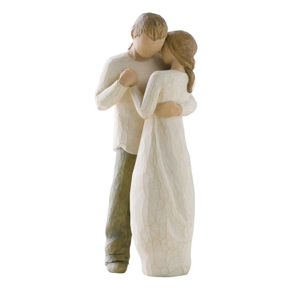 Willow Tree Figurine Promise Is An Intimate Personal Line Of Hand Carved Sculptures Each Represents A Quality Or Sentiment That Helps Us