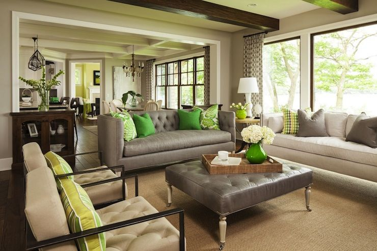 Pin By Sai Sai On Sai Luxury Decor Homes Living Room Green Living Room Grey Transitional Living Rooms #revere #pewter #living #room #ideas