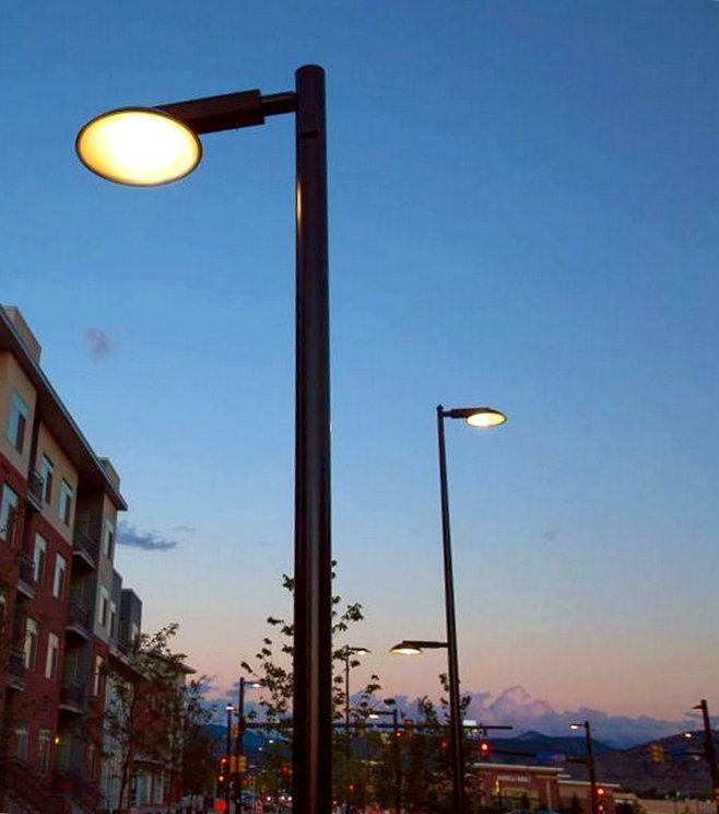 Leo LED street lights in Boulder CO. Click image to tweet via Landscape Forms & slow ottawa on | Led street lights azcodes.com