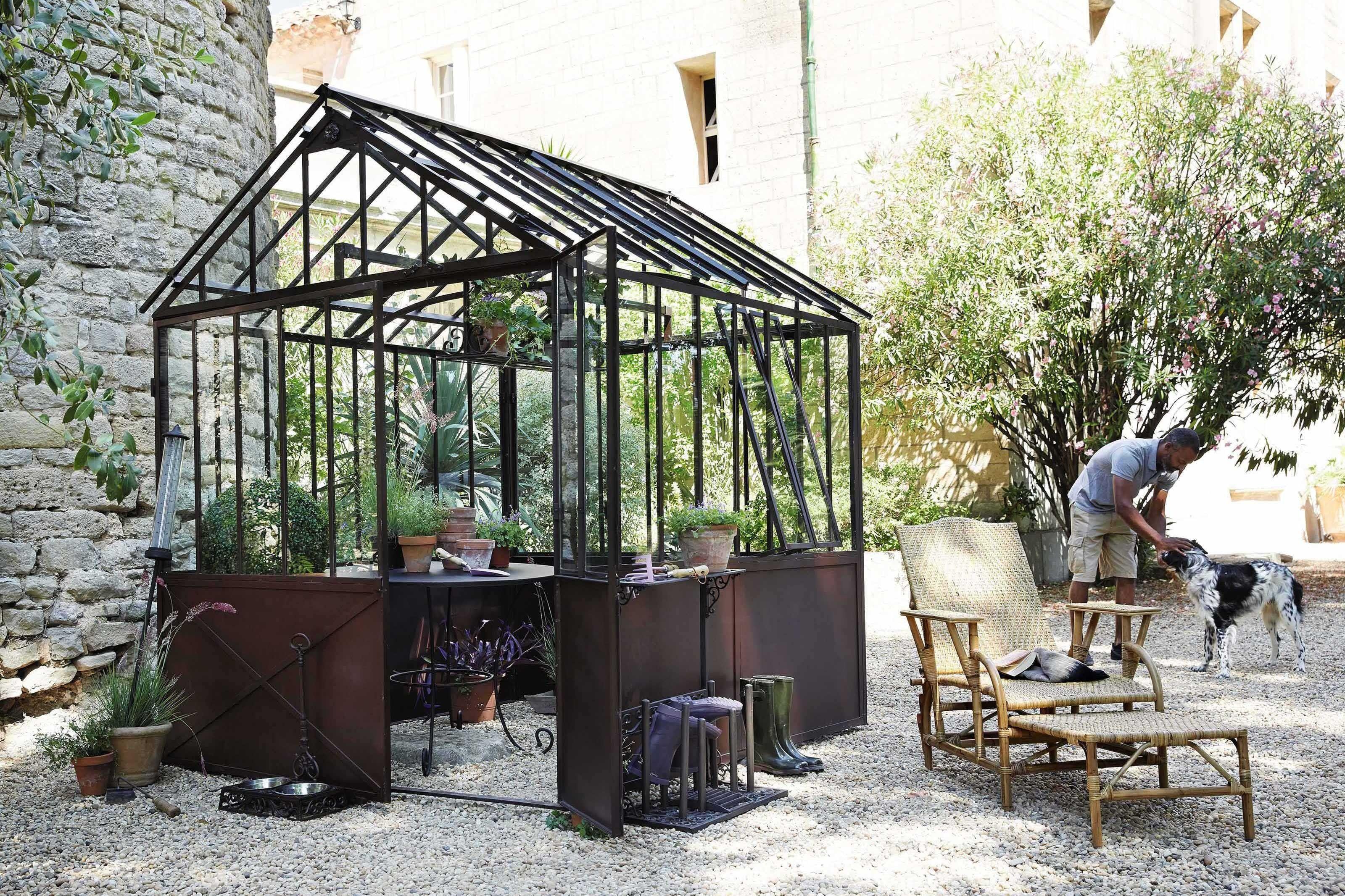 Abri de jardin serre tuileries par maisons du monde tous for Tous aux jardins