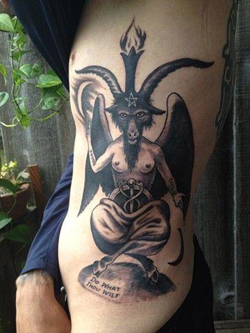 Baphomet tattoo | pretty in (p)ink | Pinterest | Tattoo ...