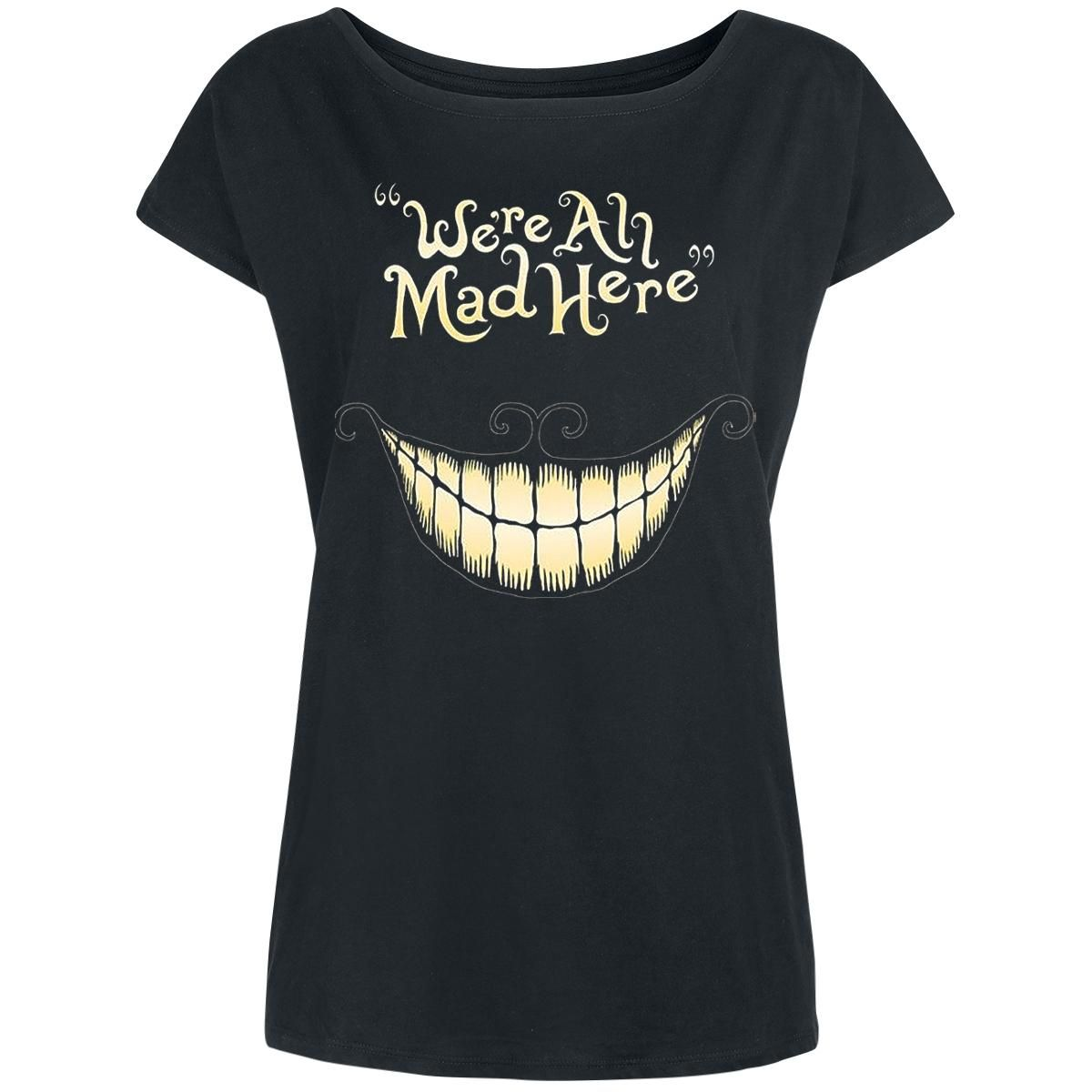 Lovely Alice In Wonderland   Front Print   Boat Neck   Loose Fit   Walt Disney  Everyoneu0027s Familiar With The Wide Cheshire Catsu0027 Grin From The Walt Disney  Film U0027 ...