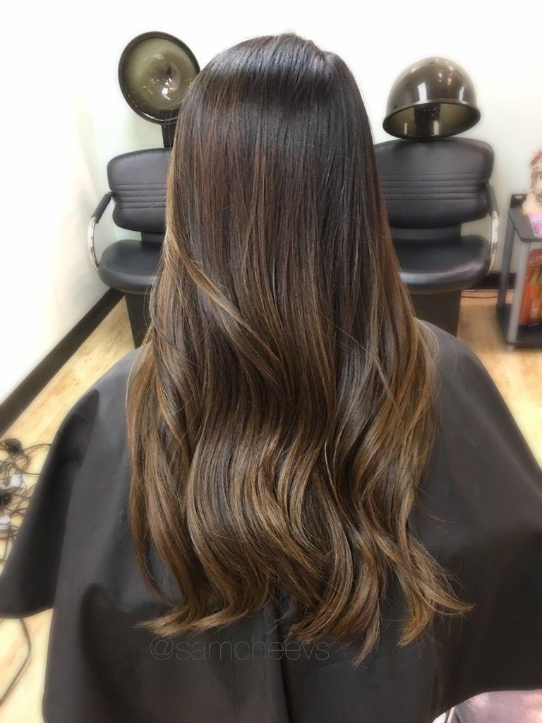 Highlights 42 Best Multi Color Hair Black Hair With Highlights Asian Hair Hair Color Asian