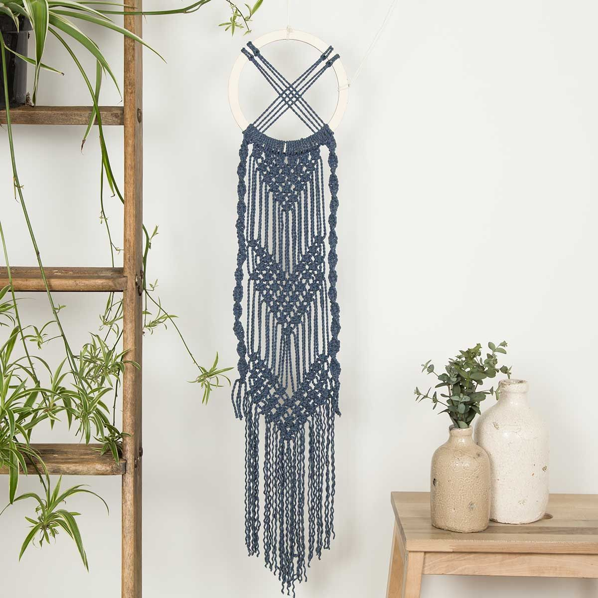Celtic wall hanging macrame kit by wool couture macrame