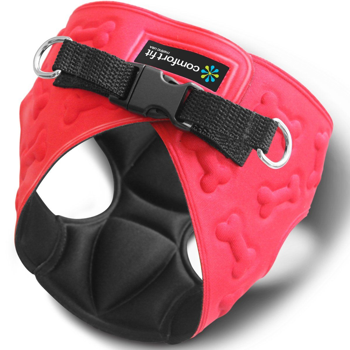 Comfort Fit Metric USA 6.3 x 8.8Inch Dog Harness with