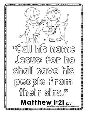 Free Christmas Bible Crafts, Christmas Activities, Christian ...