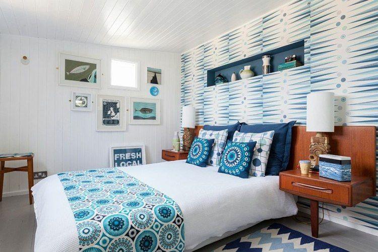 Décoration scandinave pour chambre à coucher moderne