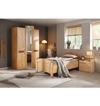 Home affaire Schlafzimmer-Set (4-tlg) »Sarah«, mit Bett 100/200 cm