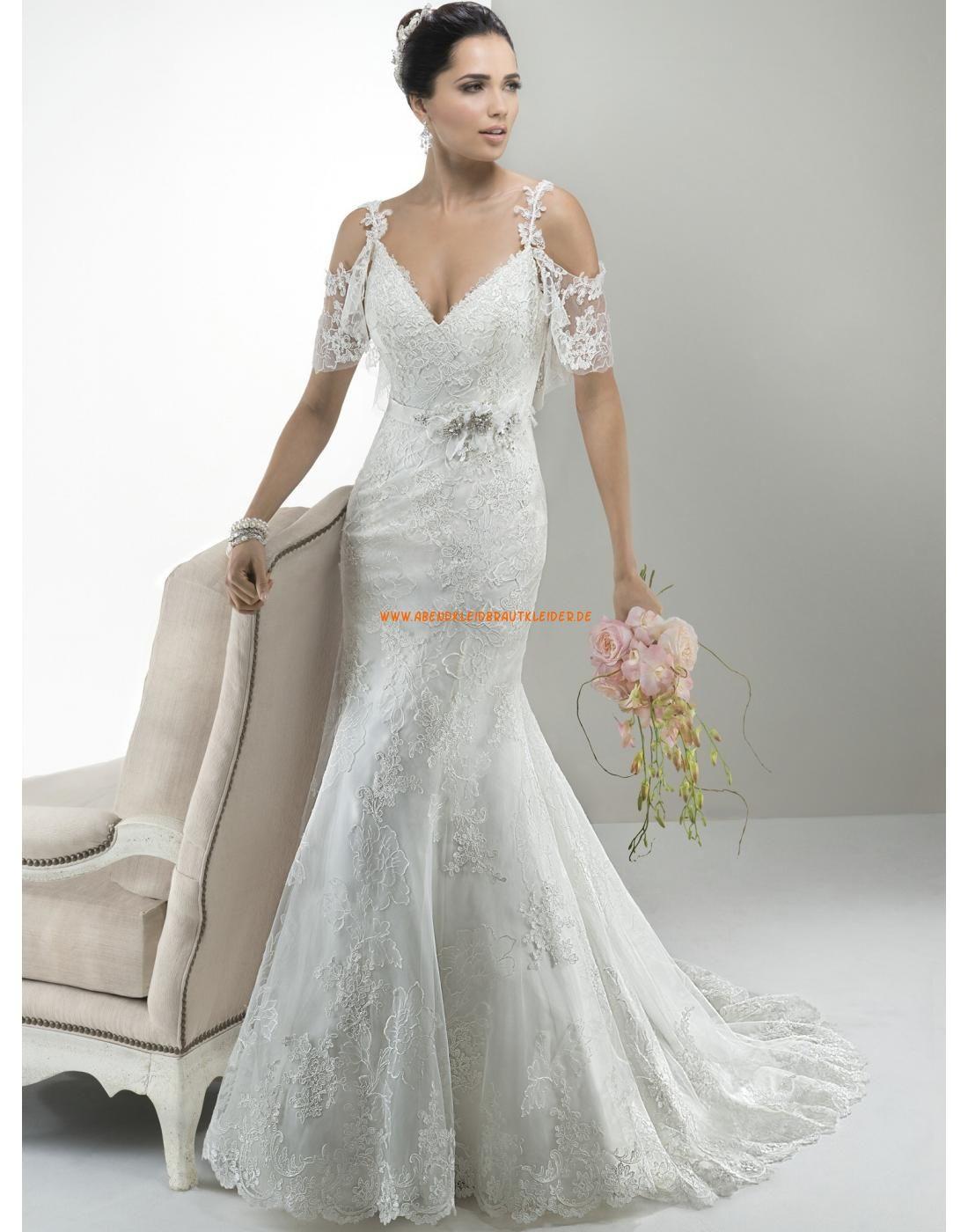 Maggie Sottero Meerjungfrau Schöne Elegante Brautkleider aus