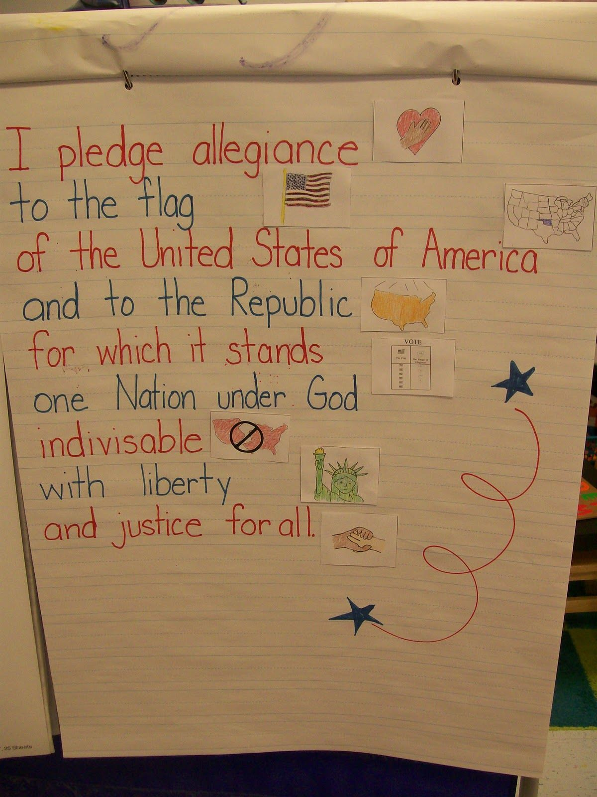 Pledge Of Allegiance With Pictures Let Bug Trace It And