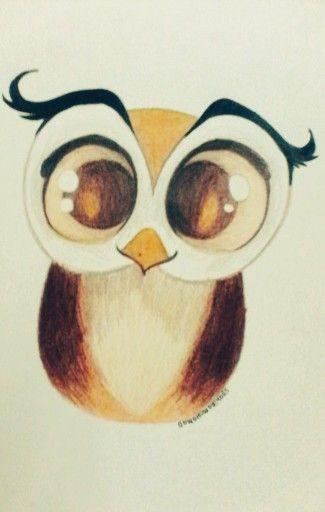 귀어운 그림 .... An owl