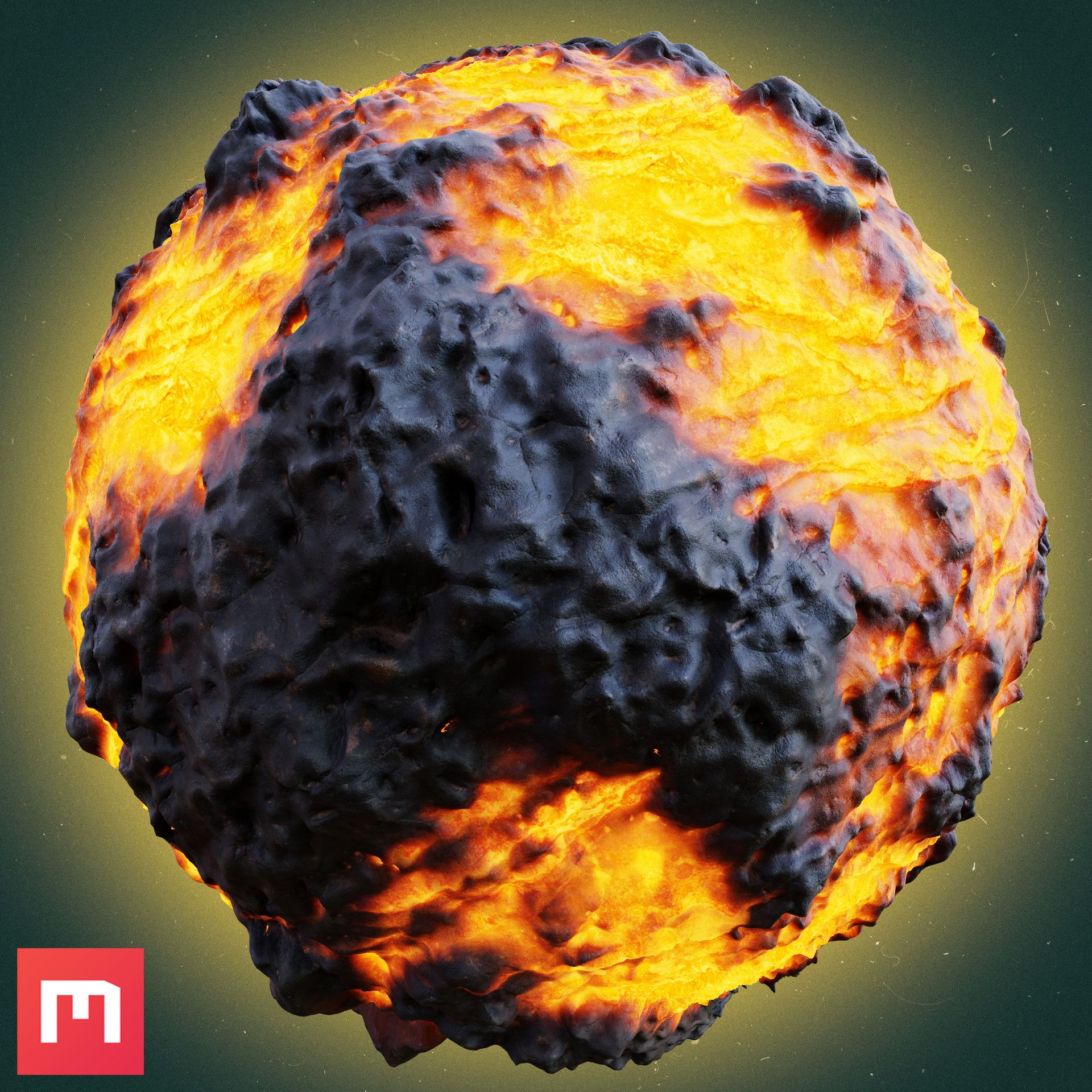 Lava Rock Made In Mixer