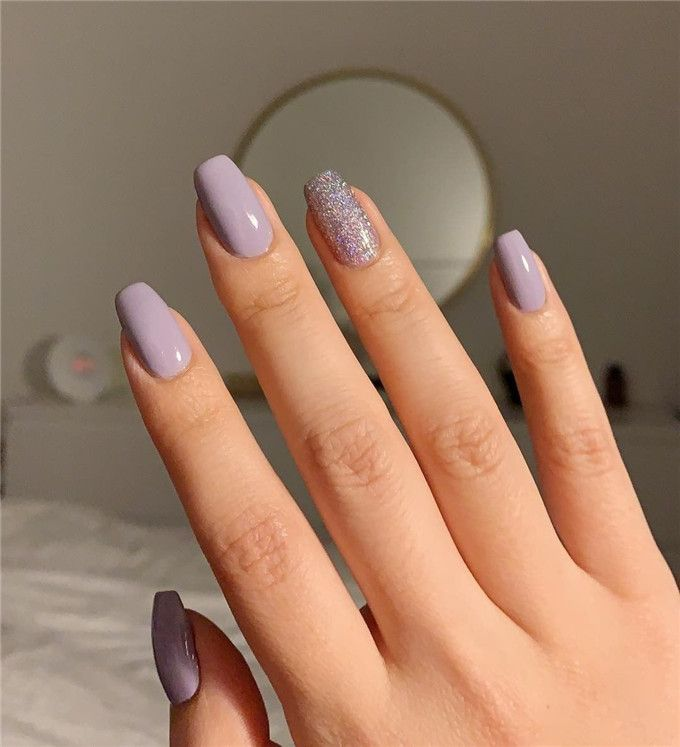 42 Pretty Short Coffin Nail Designs You Can Copy