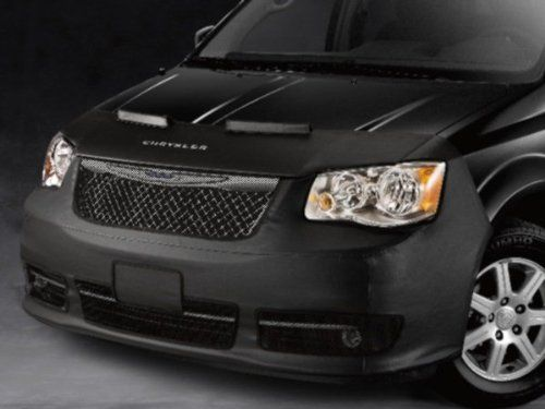 2011 2012 2013 Chrysler Town Country Front End Cover Black Wing