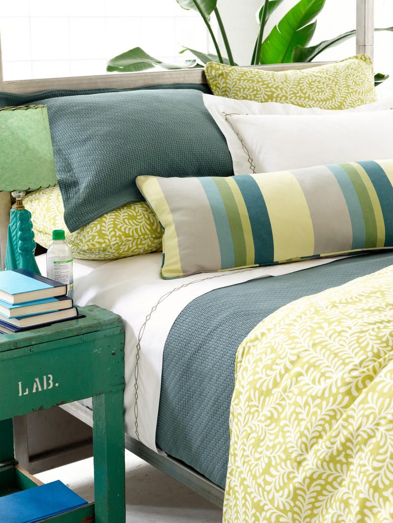 Oh My Gosh I Love This Yellow Green Duvet Cover For Andrew S